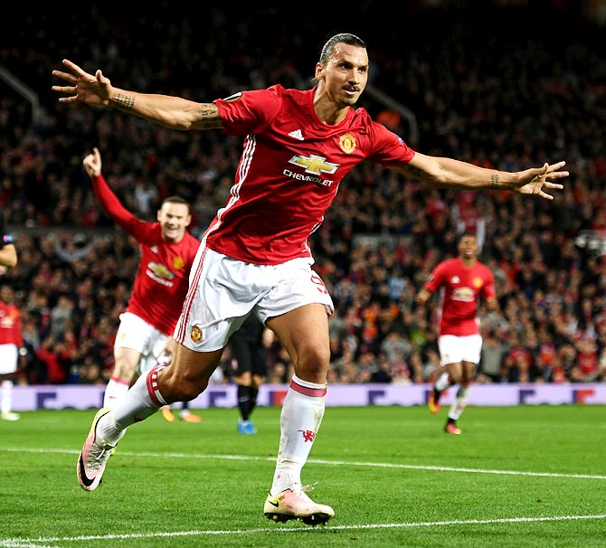 Rediff Sports - Cricket, Indian hockey, Tennis, Football, Chess, Golf - Football Briefs: Zlatan close to Man United comeback
