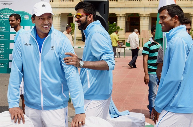 Rediff Sports - Cricket, Indian hockey, Tennis, Football, Chess, Golf - Davis Cup: Here's why Bhupathi dropped Paes