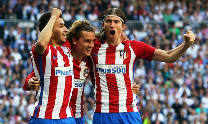 Rediff Sports - Cricket, Indian hockey, Tennis, Football, Chess, Golf - Struggling Griezmann does not regret staying at Atletico