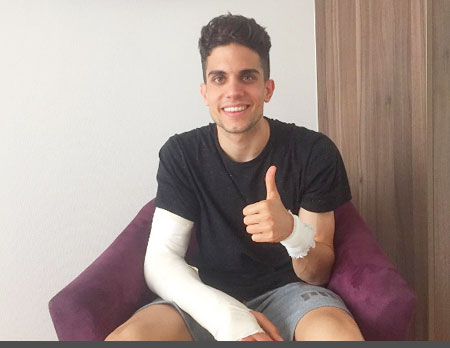 Dortmund's Marc Bartra says he is recovering well after undergoing surgeries following the bus blast on Tuesday