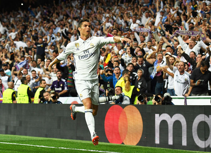 Real Madrid coach Zinedine Zidane says 'Cristiano Ronaldo always performs on important occasions'
