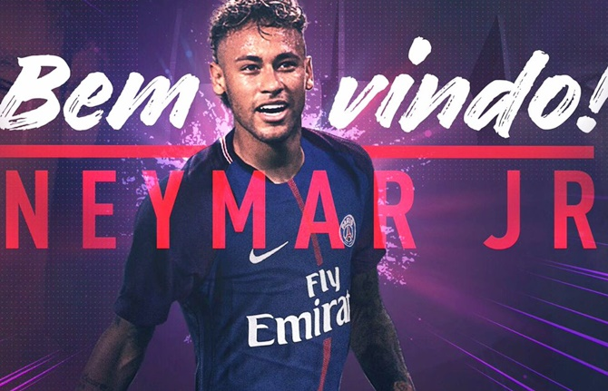 Rediff Sports - Cricket, Indian hockey, Tennis, Football, Chess, Golf - Deal is sealed! Neymar completes world record PSG move