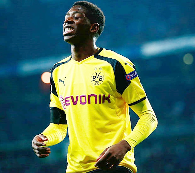 Rediff Sports - Cricket, Indian hockey, Tennis, Football, Chess, Golf - Football Roundup: Dortmund suspend Dembele