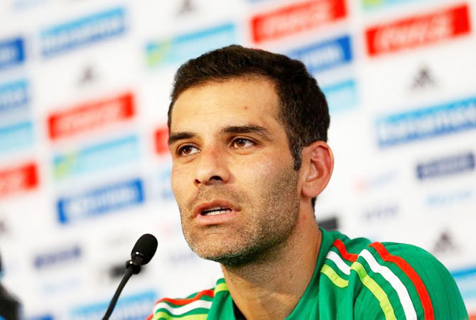 Former Mexico captain Rafael Marquez who hails from the cartel-riddled state of Michoacan has played FC Barcelona and Monaco and represented Mexico in four FIFA World Cup competitions
