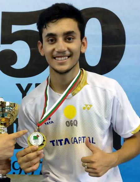 Rediff Sports - Cricket, Indian hockey, Tennis, Football, Chess, Golf - Sports Shorts: 16-year-old Lakshya wins Bulgaria Open badminton title