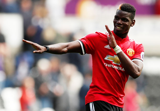 Paul Pogba is technically and mentally strong and he can win the Ballon d'Or within the next five years, believes his United and France teammate Anthony Martial
