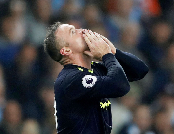 Rooney has scored all his milestone goals against Manchester City