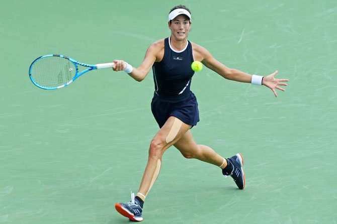 Rediff Sports - Cricket, Indian hockey, Tennis, Football, Chess, Golf - Red-hot Muguruza eager to solve US Open puzzle