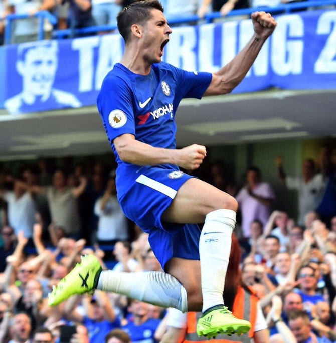 EPL: Fabregas, Morata give Chelsea victory; Liverpool crush Arsenal