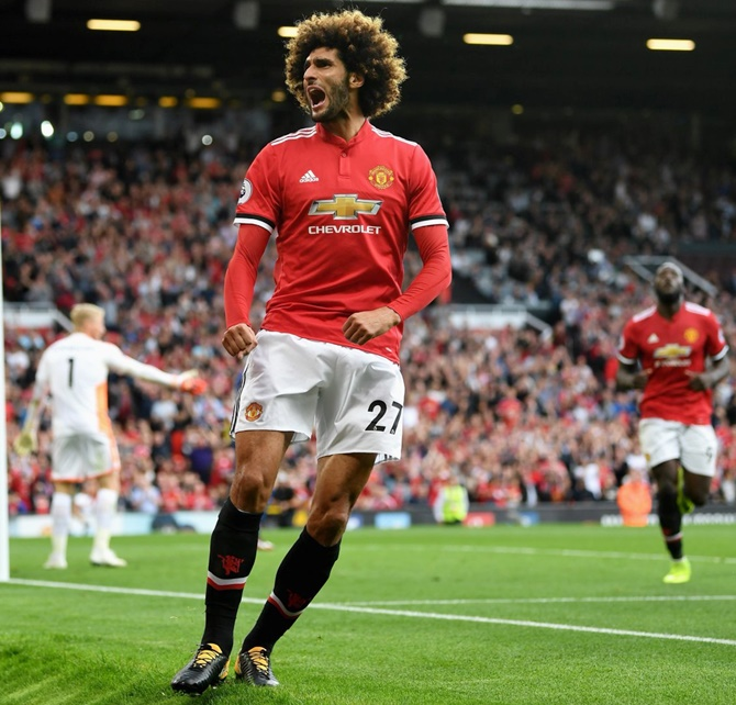 EPL: United subs Rashford, Fellaini sink Leicester