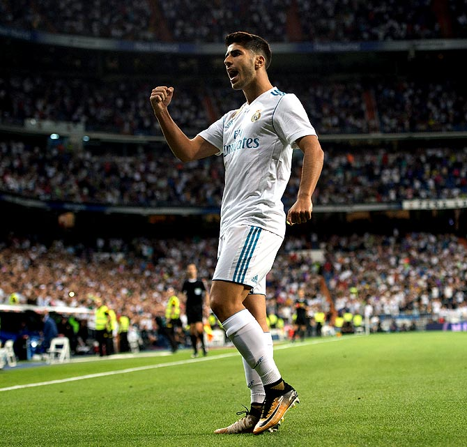 PHOTOS: Asensio rescues Real, Liverpool thrash Arsenal