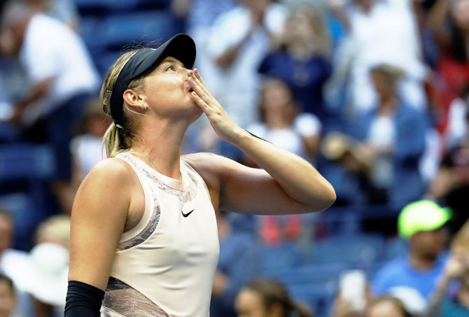 Maria Sharapova overwhelmed by the reaction of fans
