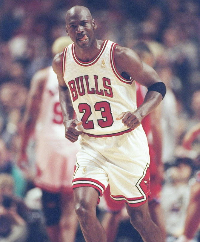 426a1562ea0 IMAGE  Former Chicago Bulls  Guard Michael Jordan. Photograph  Jonathan  Daniel Allsport via Getty Images