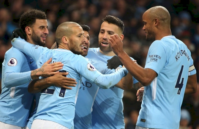 EPL: 17th successive win for Man City, Everton hold Chelsea