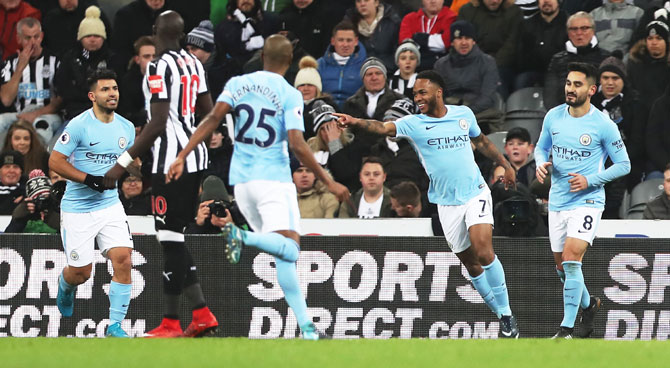 EPL PHOTOS: City wasteful but march on with 18th straight win