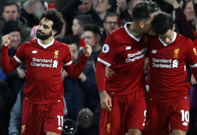 EPL PHOTOS: Chelsea climb to second, Salah fires Liverpool to win