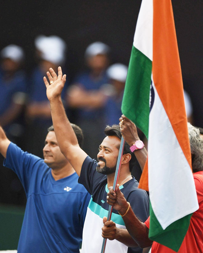 India's Leander Paes won't be an automatic pick for the Davis Cup match against Uzbekistan because of lower rankings compared to Rohan Bopanna, Ramkumar Ramanathan and Yuki Bhambri