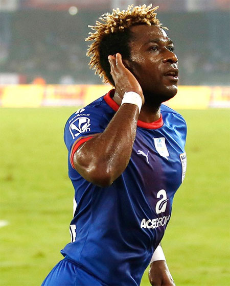 Sony Norde had a perfect match for Mohun Bagan on his return from injury