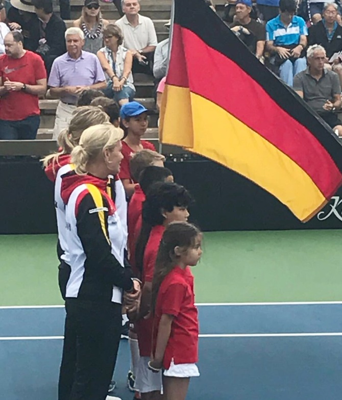 Rediff Sports - Cricket, Indian hockey, Tennis, Football, Chess, Golf - US plays wrong version of German anthem