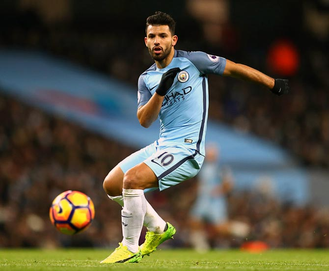 Rediff Sports - Cricket, Indian hockey, Tennis, Football, Chess, Golf - Aguero set to leave Manchester City?