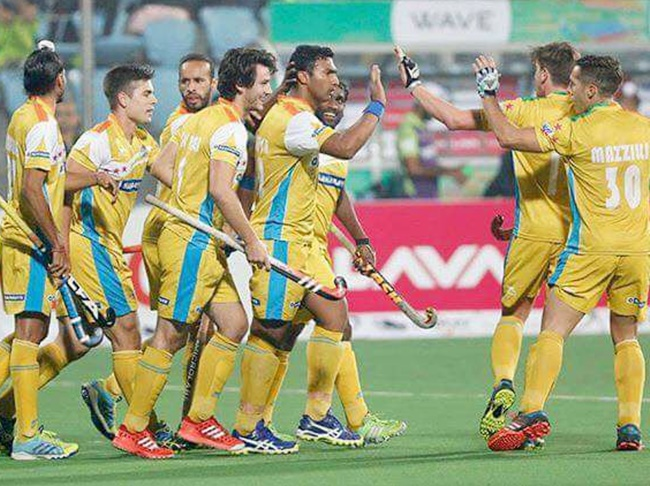 Rediff Sports - Cricket, Indian hockey, Tennis, Football, Chess, Golf - HIL: UP Wizards beat defending champions Jaypee Punjab Warriors