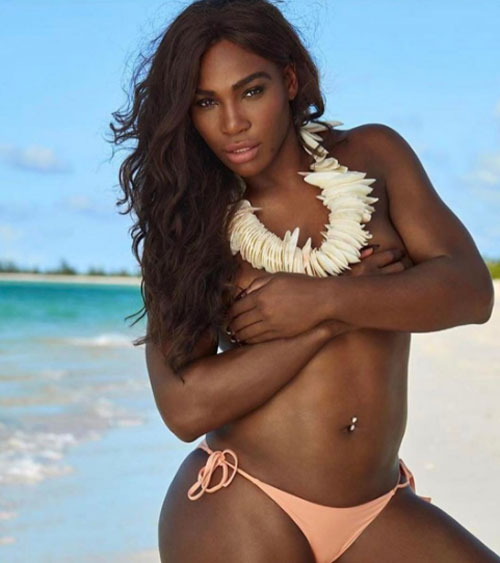 Rediff Sports - Cricket, Indian hockey, Tennis, Football, Chess, Golf - Serena Williams burns up the beach at this sizzling shoot