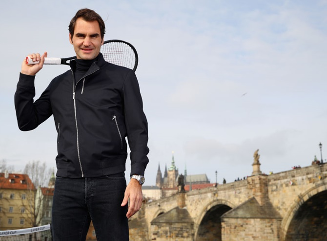 Rediff Sports - Cricket, Indian hockey, Tennis, Football, Chess, Golf - Roger Federer commits to keep playing in Basel until 2019