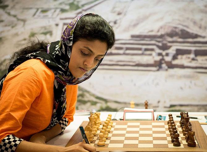 World Chess: Harika fights back to takes semis to tiebreaker