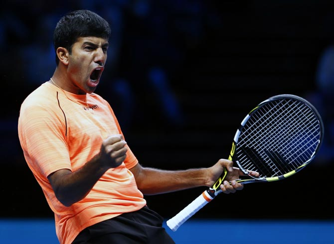 Rediff Sports - Cricket, Indian hockey, Tennis, Football, Chess, Golf - Why Bopanna was axed for Davis Cup tie vs New Zealand