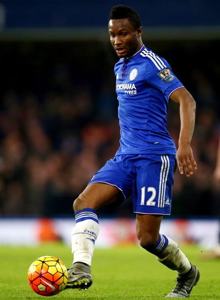 Chelsea's Mikel joins China gold rush with move to Tianjin