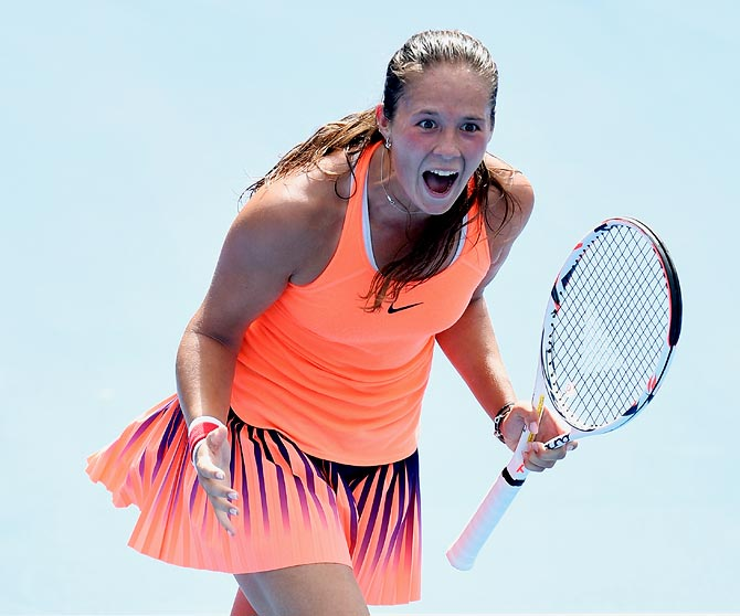 PHOTOS: Russian teenager ousts World No 1 Kerber in Sydney
