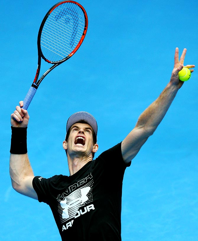 Rediff Sports - Cricket, Indian hockey, Tennis, Football, Chess, Golf - No Sir, confident Murray comfortable with being called 'Andy'