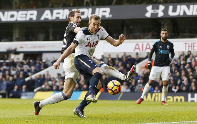 EPL: Special hat-trick for new dad Kane as Spurs thrash West Brom