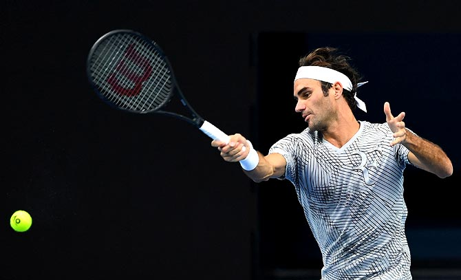Rediff Sports - Cricket, Indian hockey, Tennis, Football, Chess, Golf - Aus Open: Federer, Kerber in the spotlight on day one