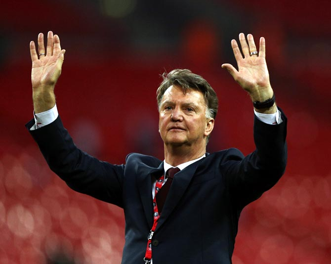 Former United, Barca manager Van Gaal ends career after family tragedy