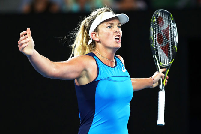 Rediff Sports - Cricket, Indian hockey, Tennis, Football, Chess, Golf - Here's why Vandeweghe thrives on team atmosphere