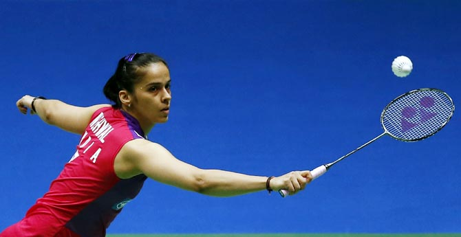 Rediff Sports - Cricket, Indian hockey, Tennis, Football, Chess, Golf - Back in form! Saina storms into Malaysia Masters final