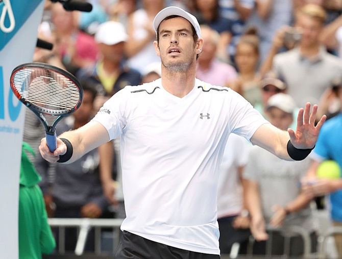 Rediff Sports - Cricket, Indian hockey, Tennis, Football, Chess, Golf - Aus Open: Top seed Andy Murray knocked out; Venus, Wawrinka reach quarters