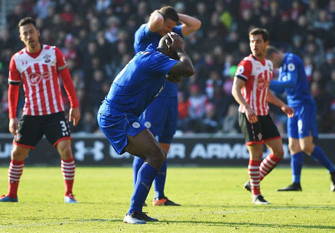 EPL: Champions Leicester slip to new low