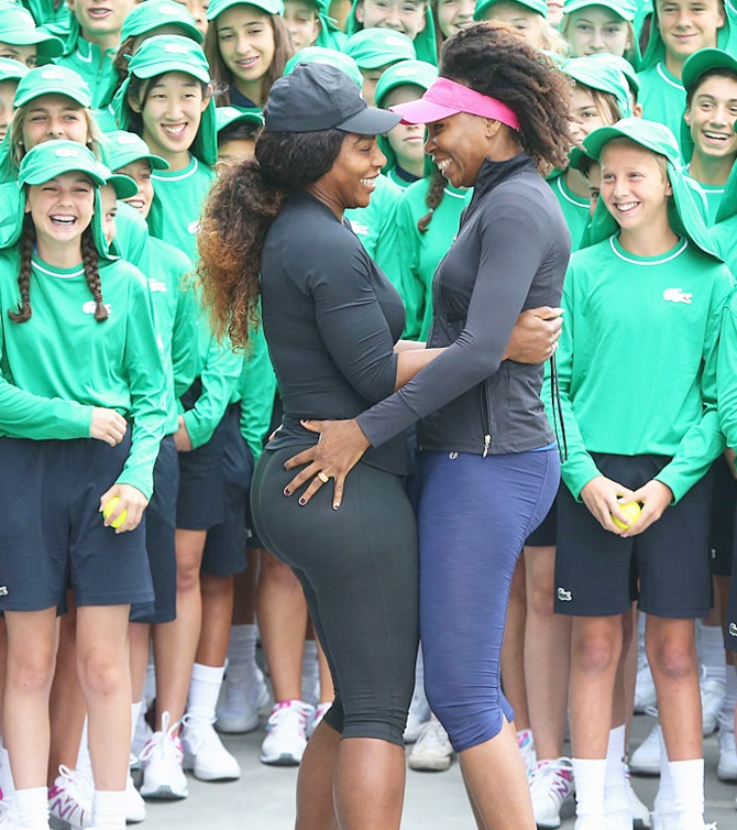 Rediff Sports - Cricket, Indian hockey, Tennis, Football, Chess, Golf - Venus, Serena stay on course for final showdown but...