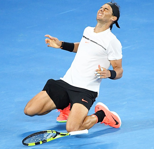 Rediff Sports - Cricket, Indian hockey, Tennis, Football, Chess, Golf - Mexico Open: Nadal breezes into final