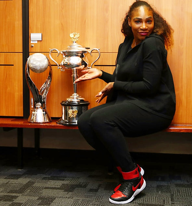 Rediff Sports - Cricket, Indian hockey, Tennis, Football, Chess, Golf - After record Slam, what next for Serena?