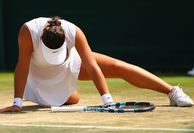 Ana Konjuh of Croatia