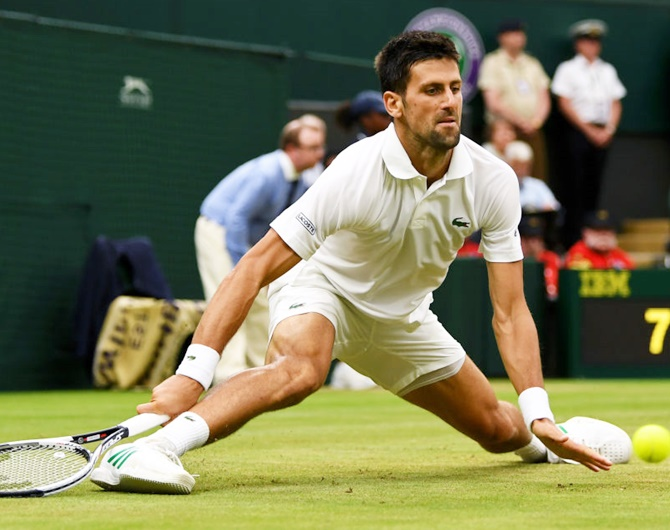 Novak Djokovic faces Tomas Berdych in the quarter-final on Wednesday