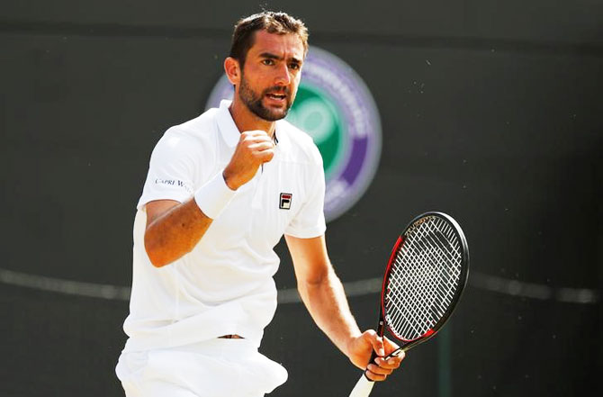 Marin Cilic has not dropped a set in the Wimbledon Championships this year