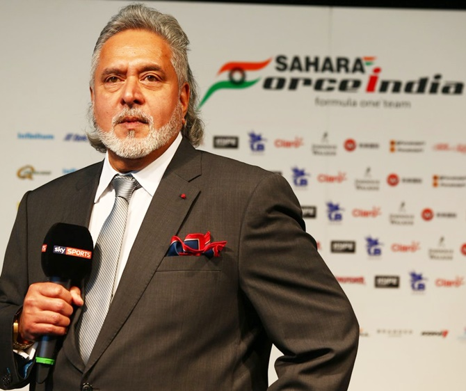 Rediff Sports - Cricket, Indian hockey, Tennis, Football, Chess, Golf - Force One? Force Racing? What will Mallya call his F1 team?