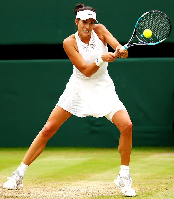 Rediff Sports - Cricket, Indian hockey, Tennis, Football, Chess, Golf - Sports Shorts: Muguruza crushes Puig in Tokyo; WFI want foreign coach
