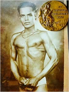 Rediff Sports - Cricket, Indian hockey, Tennis, Football, Chess, Golf - SHOCKING! Khashaba Jadhav's 1952 Olympic medal up for auction...