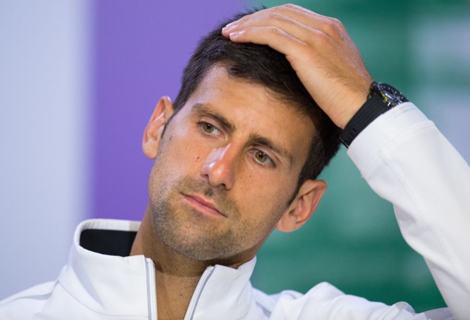 Rediff Sports - Cricket, Indian hockey, Tennis, Football, Chess, Golf - The fall of great Novak Djokovic