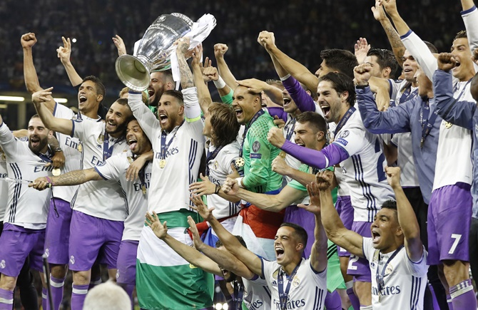 Rediff Sports - Cricket, Indian hockey, Tennis, Football, Chess, Golf - How the Spanish media reacted to Real Madrid's victory